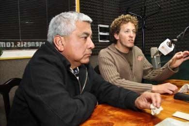 Cecilio Salazar e Iván Paz
