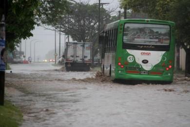 lluvia temporal