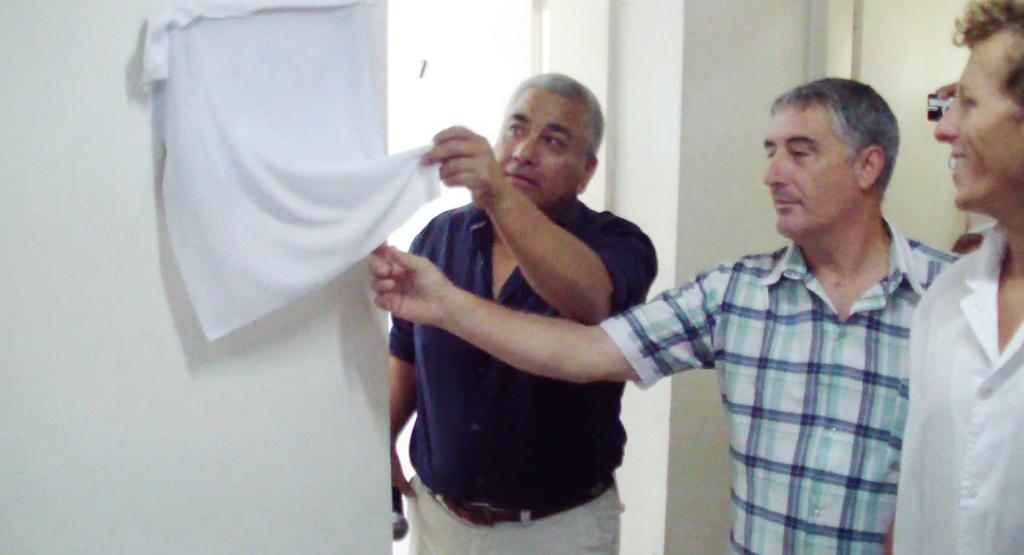Inauguración consultorio odontológicos OSPRERA