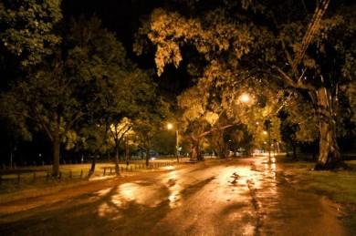 costanera de noche