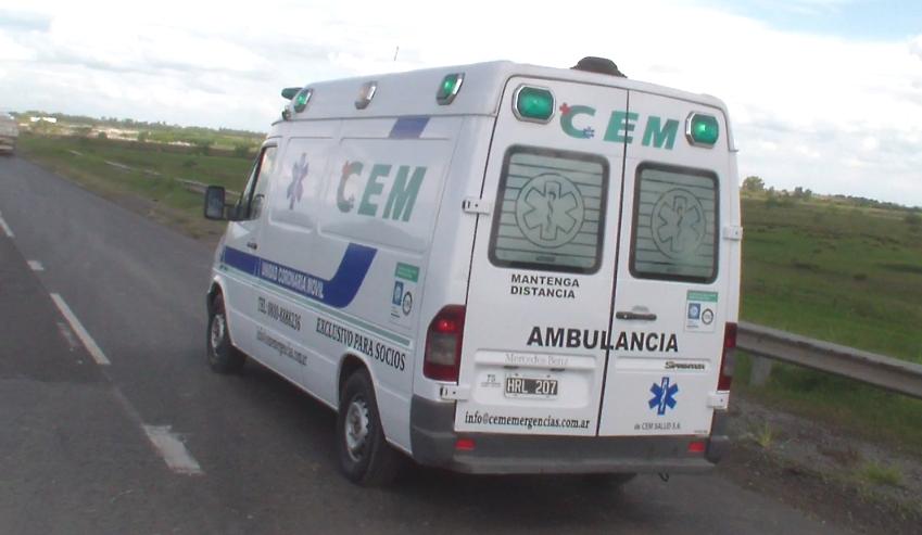 ambulancia ruta 02