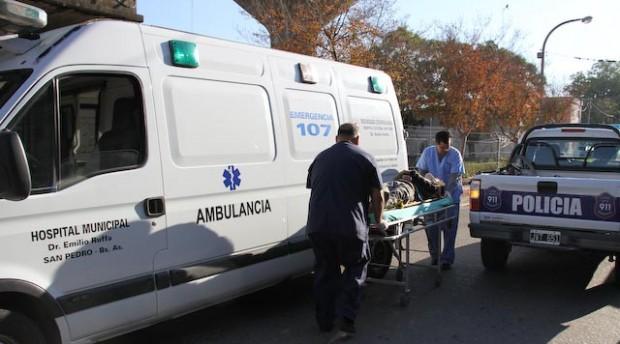 ambulancia 107