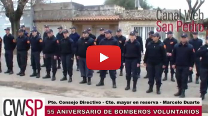 55 años bomberos