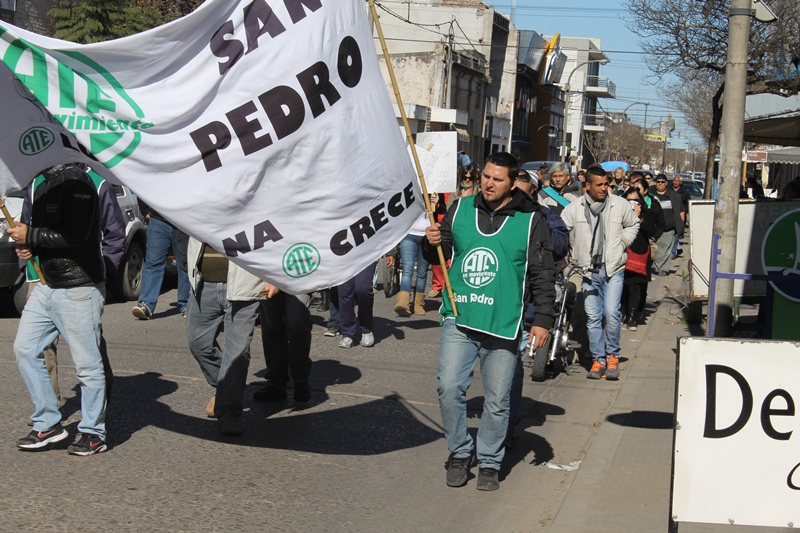manifestacion empleados municipales