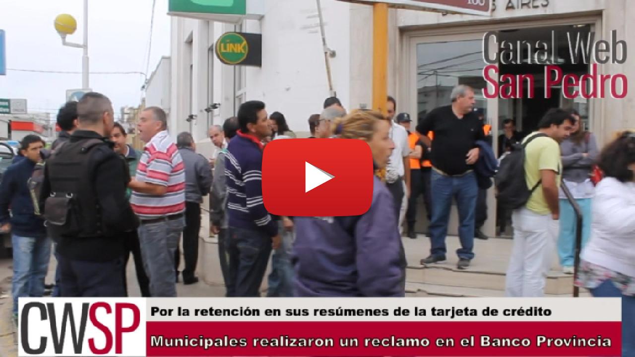 protesta municipales bapro