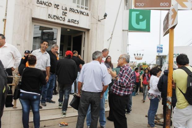municipales en el banco provincia