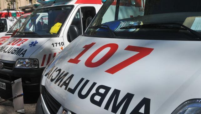 107 ambulancia
