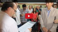 En la tarde de este lunes, el Intendente Fabio Giovanettoni el tomó juramento como Secretario de Desarrollo Social a Nicolás Macchia. Ya hace varios días que el ex concejal se […]