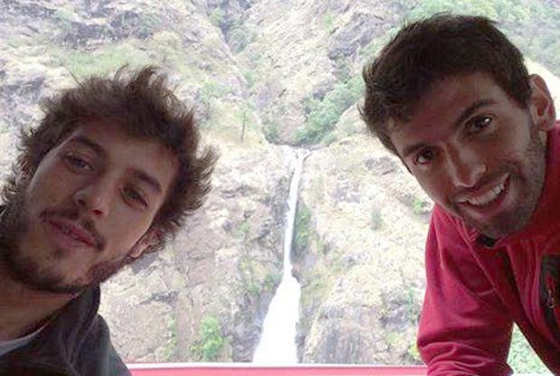 Gabriel Jesús Andreu y Jeremias Ruibal Golawnd