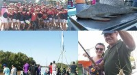"""En la tarde del sábado se desarrolló el V Concurso de Pesca Deportiva en el Buque Museo """"Cdte. Gral. Irigoyen"""" con excelentes condiciones climáticas y muy buena concurrencia."""