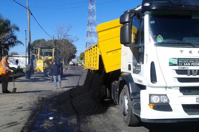 arreglando calles