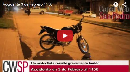 accidente 3 de febrero 1150