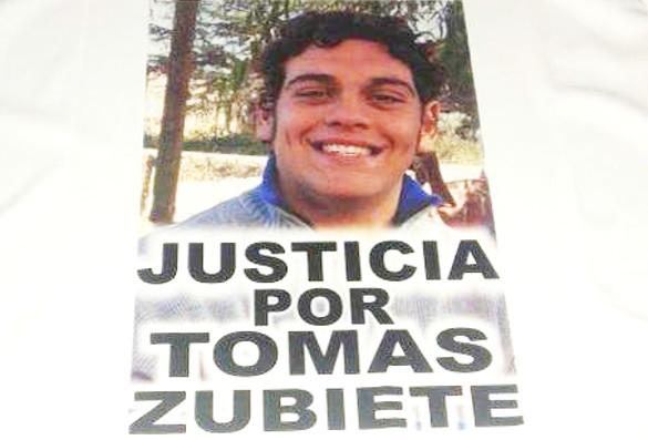 justicia por Tomás Zubiete