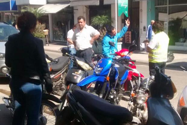 control motos