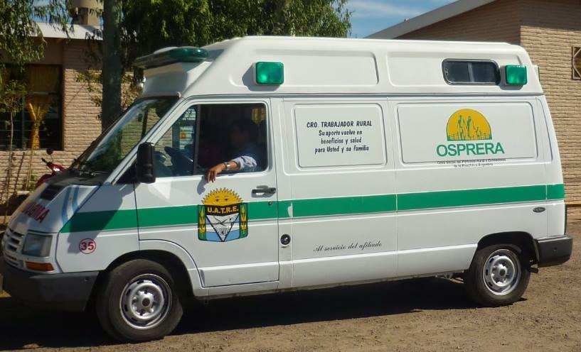 ambulancia osprera