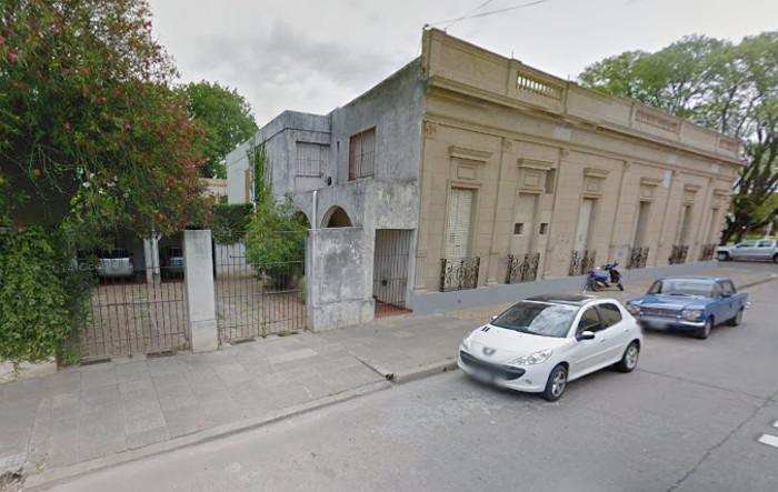 casa parroquial por detras