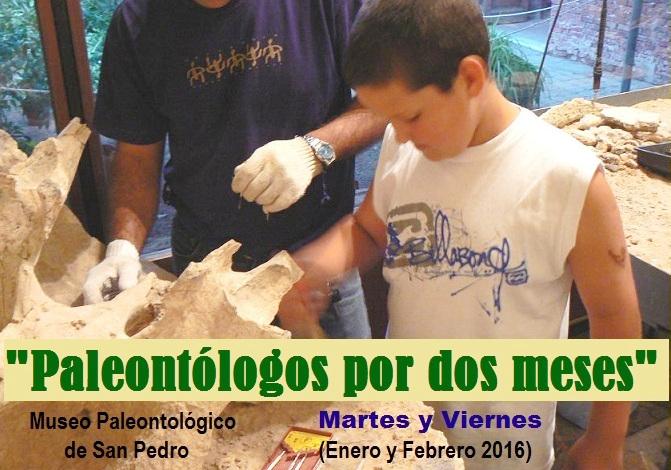 """""""Paleontólogos por dos meses"""" – Canalweb San Pedro"""