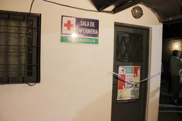 Sala de Primeros Auxilios Villa Igoillo.