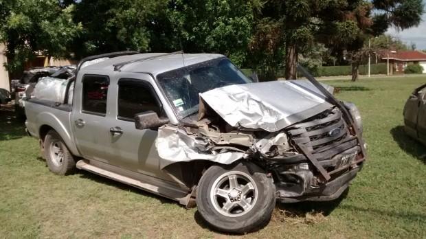 accidente camioneta ruta 9