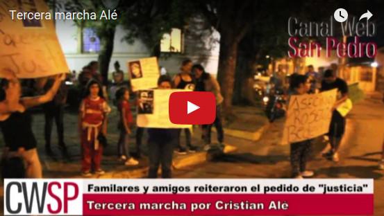 cristian ale marcha