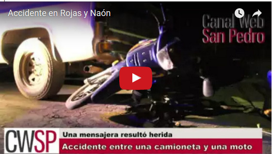 accidente rojas y naon