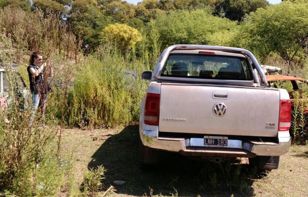 camioneta robada en pergamino