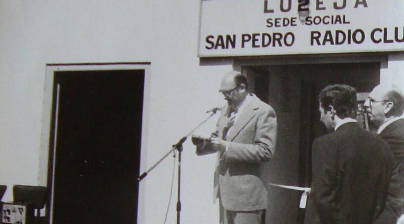Inauguración del Radio Club