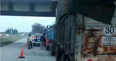 camion secuestrado