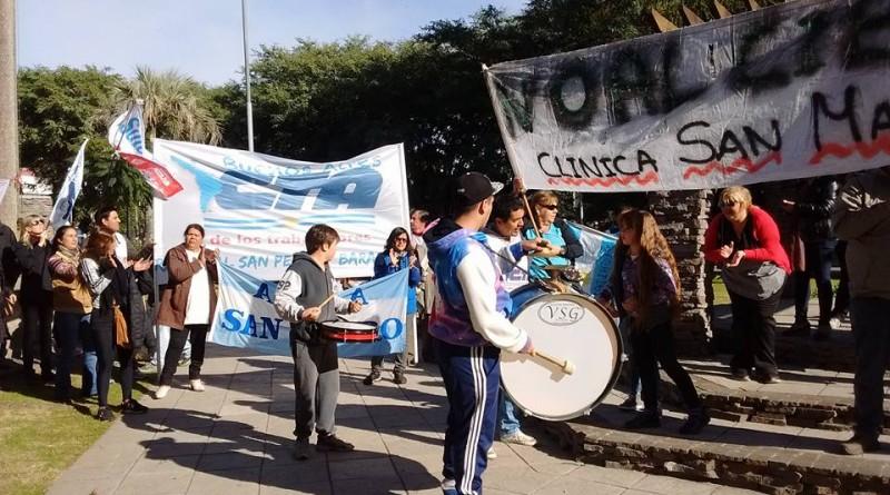 marcha clínica San Martín 03
