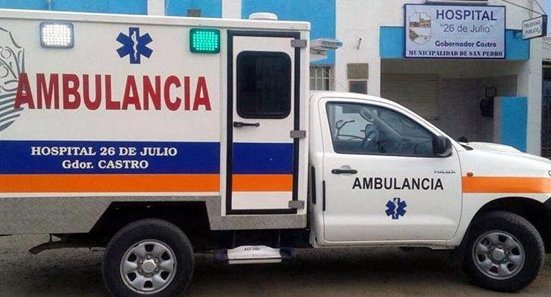ambulancia y hospital gdor castro