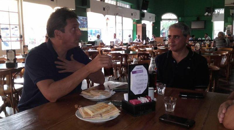 Sorpresiva visita de Massa a San Pedro