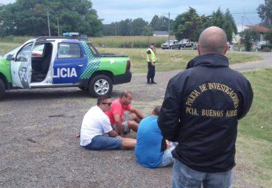 Baradero: Tras una persecución, la policía detuvo a peligrosos delincuentes