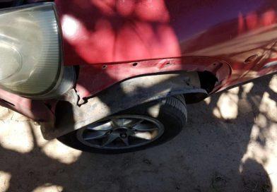 Secuestraron un auto que había huido de un choque