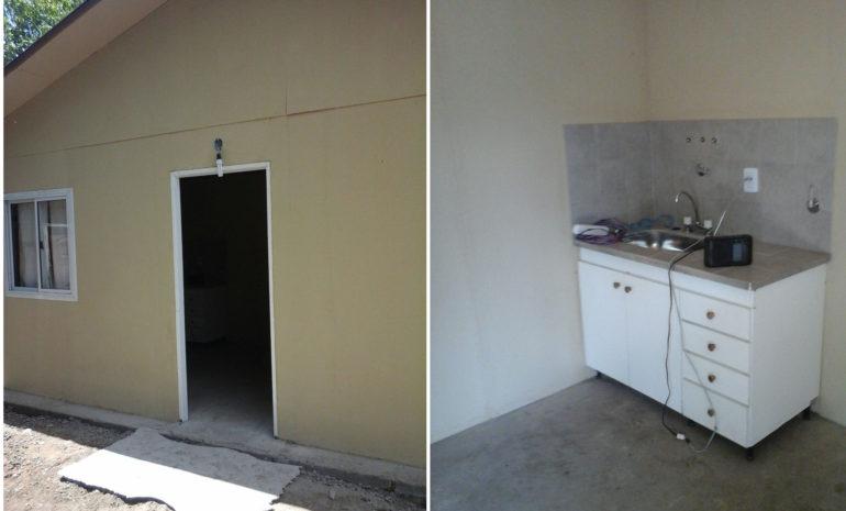Casa entregada en San Pedro