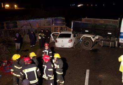 Identifican a dos de las tres personas fallecidas en la Ruta 9