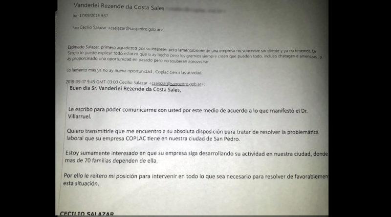 """""""Lo lamento mas ya no hay nueva oportunidad, Coplac cierra las actividad"""""""
