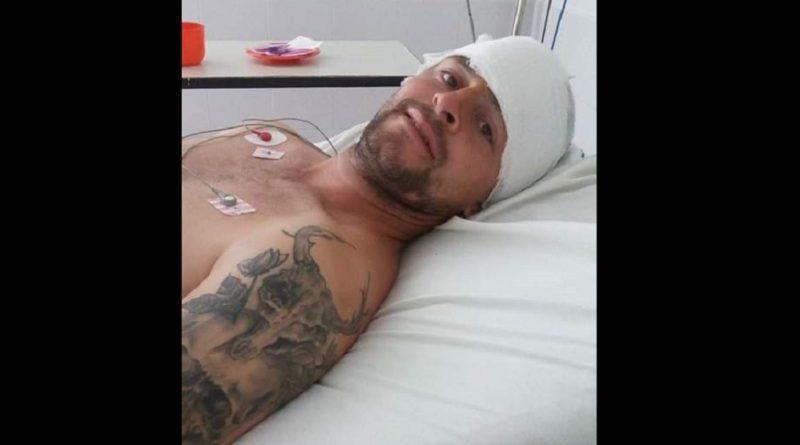 Un joven recibió un machetazo en el cráneo, buscan al agresor