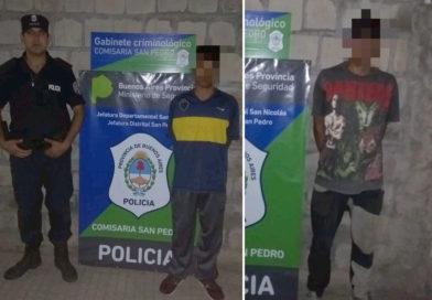 Dos mayores y un menor detenidos por robar en el CIC