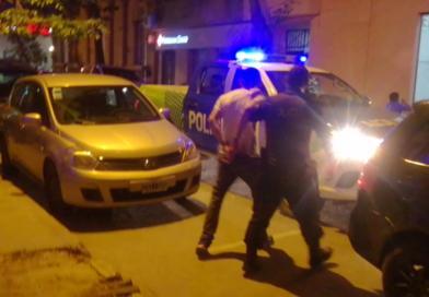 *Video: Un sujeto alcoholizado y violento fue aprehendido