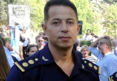 Ascendieron a Comisario Inspector al Jefe de la Policía Comunal, Juan Catalano