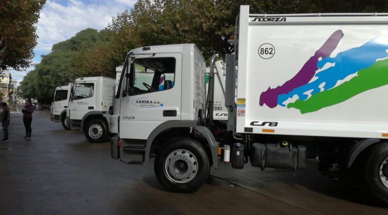 *Video: Presentaron los nuevos camiones de Ashira