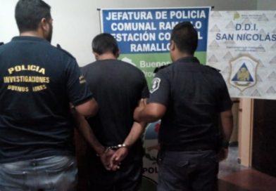 Ramallo: Detienen a un sampedrino que robó a mano armada a una cajera de un supermercado
