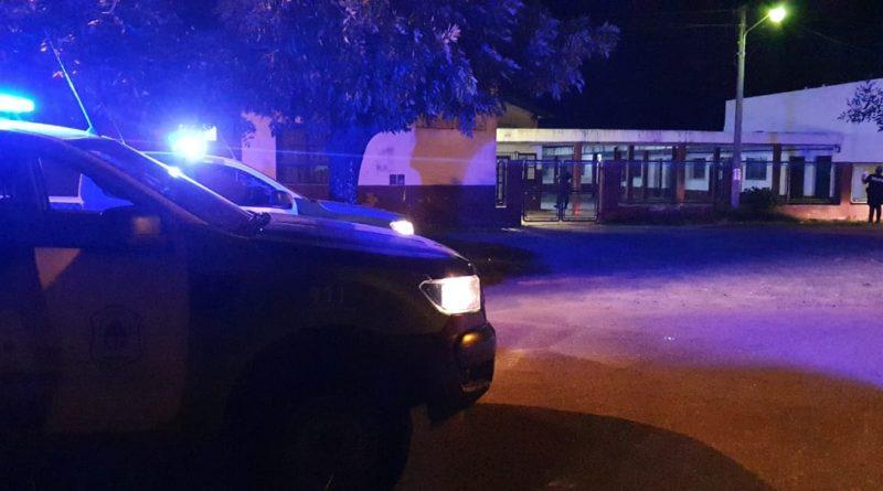 La Policía detuvo a un menor que robó en la Escuela Nº 10