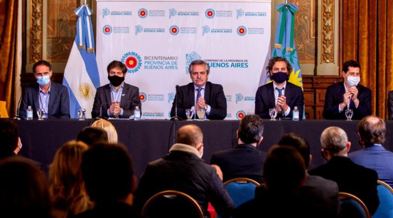 14 millones de pesos para San Pedro: Fernández y Kicillof presentaron el nuevo Fondo de Infraestructura Municipal