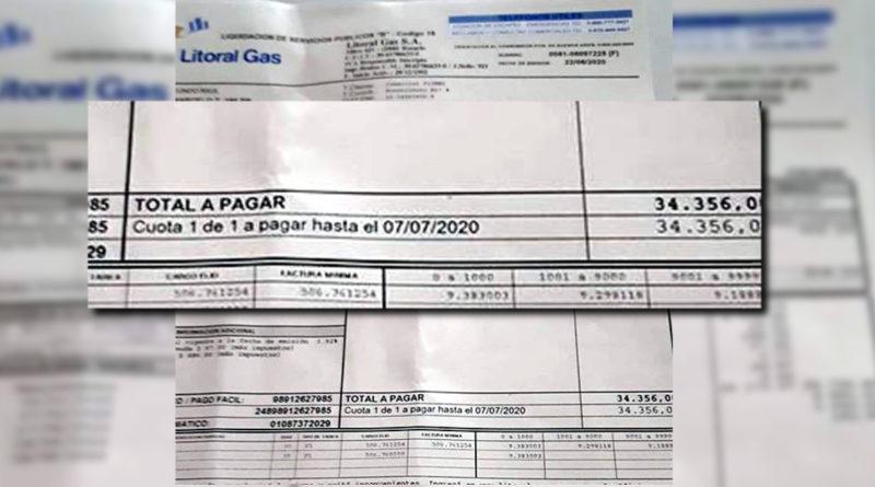 A pesar del congelamiento de las tarifa de gas, un comerciante sampedrino sufrió incremento del 200%