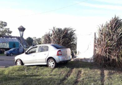Tres sampedrinos resultaron heridos en un accidente en el ingreso a Baradero