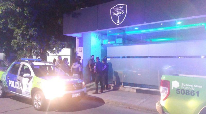 Nocturnidad: clausuraron un bar céntrico