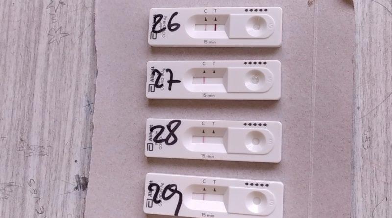 COVID-19: Detectan 31 nuevos casos detectados con los test rápidos