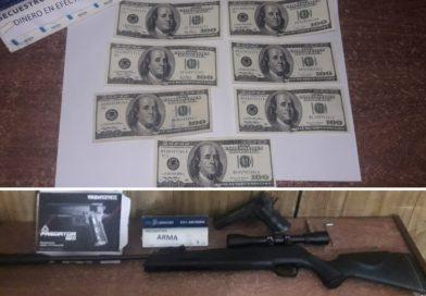 Aprehenden a menor de 16 tras agresión a su madre: secuestran un rifle y dólares