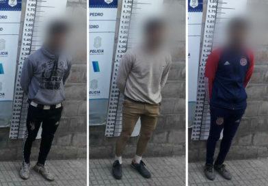 Tres detenidos por intento de usurpación de un terreno